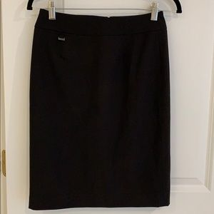 Calvin Klein black pencil skirt size 0